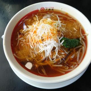 酸辣湯麺(幸楽苑 京都久御山店 )