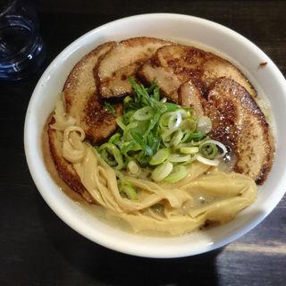 濃厚鶏豚骨拉麺チャーシュー増し(祇園・泉 麺家 千本丸太町店 )