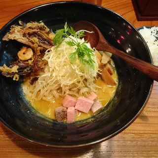 鶏たいたんカレー和え麺(龍旗信 京都店 )