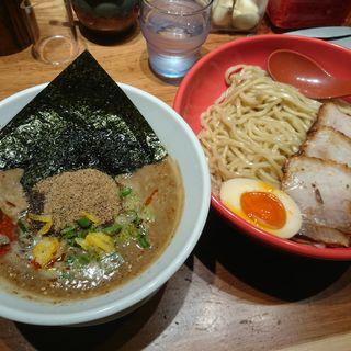 濃厚魚介豚骨つけ麺(ラー麺 ずんどう屋 京都三条店 )
