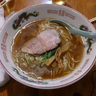 にぼしの中華そば(ソライロ)