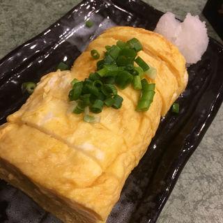 卵焼き(炭火 串焼きボンちゃん)