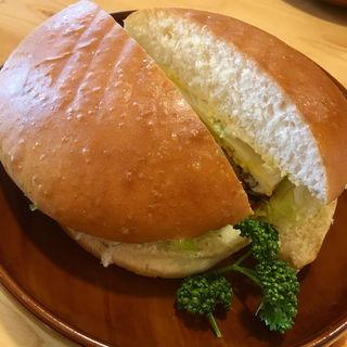 ハンバーガー(コメダ珈琲店 福岡香椎浜店)