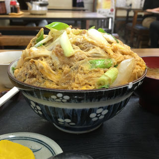 カツ丼 小(大力食堂 (だいりきしょくどう))