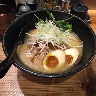 豚骨魚介 特製らぁめん(RAMEN TOMIRAI 代々木店 (戸みら伊))