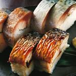 とろさば棒寿司盛合せ
