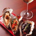 焼き牡蠣定番3種盛合せ