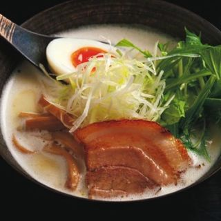 鶏白湯ラーメン(塩) (麺屋 奏音)