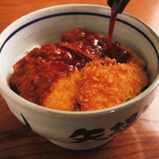 【定番】みそかつ丼定食(矢場とん 東京銀座店 (やばとん))
