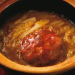 上海蟹と娃々菜の煮込み