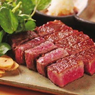 黒毛和牛サーロインステーキ(OSAKAきっちん)