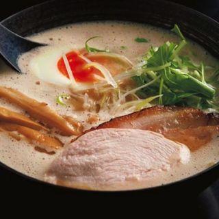 鶏白湯ラーメン(醤油)(麺屋 奏音)
