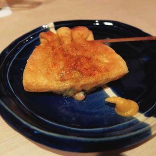 きんちゃく納豆(串焼とくり )
