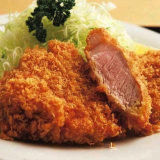 ロースカツ定食(銀座 梅林 本店)