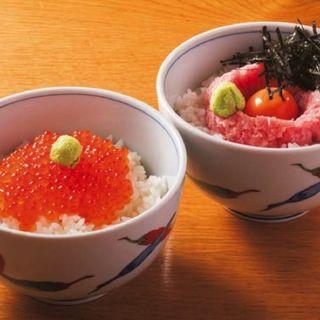 ミニ丼セット(小)(七蔵 (ななくら))