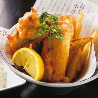 SABARのフィッシュ&チップス(SABAR 恵比寿店 (サバー))