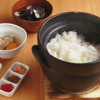 土鍋釜ご飯 トリュフと南部鶏卵の卵かけ(瀧口 (タキグチ))