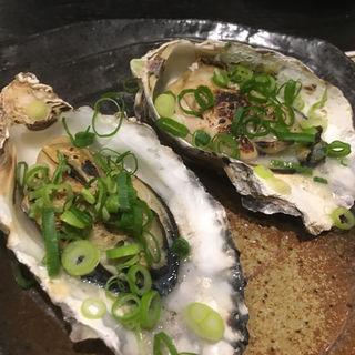 焼き牡蠣(博多一番どり 居食家あらい 空港東店 )