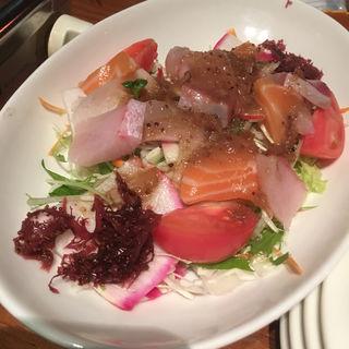 海鮮サラダ(居食遊間 木四季 (こしき))