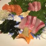 刺身3種盛り(居食遊間 木四季 (こしき))