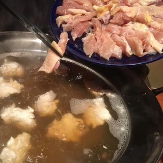 鶏鍋(居食遊間 木四季 (こしき))