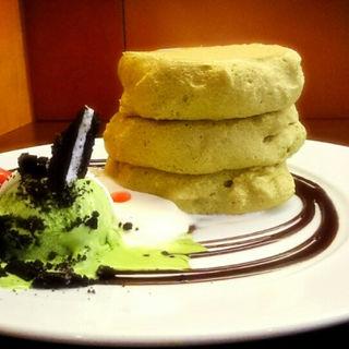 まっちゃん パンケーキ(茶香 (チャカ))