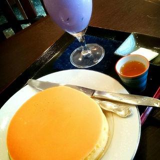 ホットケーキと飲み物のセット(甘味処 華樓 )