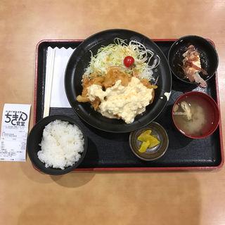 タルタルチキン南蛮定食(タルタルチキン南蛮5個)(ちきん食堂 イオンモール鹿児島店)