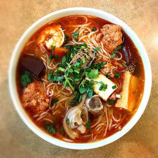 CRAB NOODLESOUP BUN RIEU(Kim An Vietnamese Restaurant)