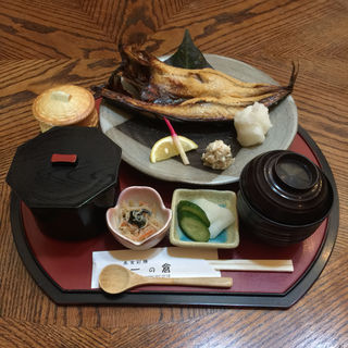 鯖焼き定食(美食彩膳 一の倉)