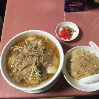 サンマーメン定食(岩手屋 (いわてや))