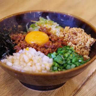 台湾まぜそば(つけ麺 冨 (ツケメン トミ))