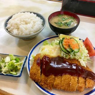 チキンカツ定食(きさらぎ亭 (きさらぎてい))