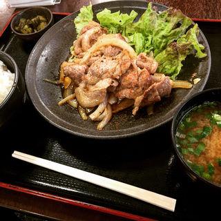 スタミナ焼肉定食(寄居パーキングエリア(下り)・スナックコーナー (寄居PA(下り)・スナックコーナー))