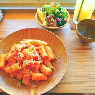 種子島産ポークのアマトリチャーナ(Cafe&Restaurant Ginger Village)