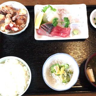 魚増定食(海鮮食堂 魚増 (うおます))