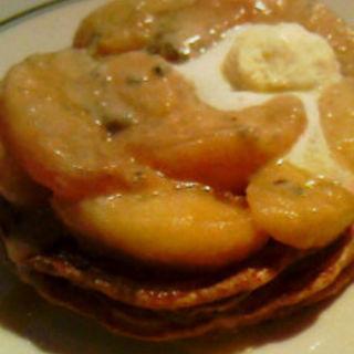 りんごとゴルゴンゾーラのパンケーキ(ザ スマイル ルミネエスト新宿店 (THE SMILE))