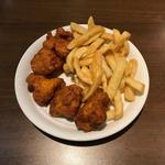 ポテトフライ&鶏の唐揚げ