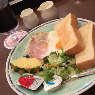 トースト モーニングセット(ボンテ)