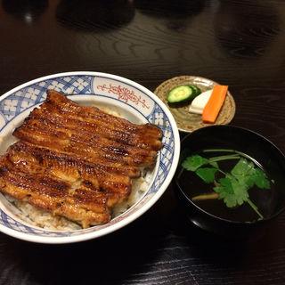 鰻丼(田傳 (たでん))