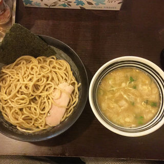 鶏つけ麺(鶏々 (TORIDORI))