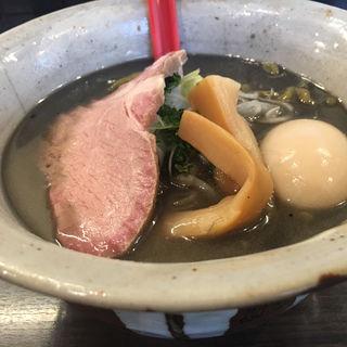 黒味噌ラーメン(麺屋大河)