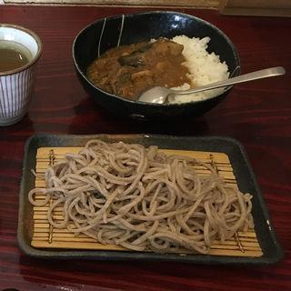 ランチセット(なすポークカレー)(しぇもと )