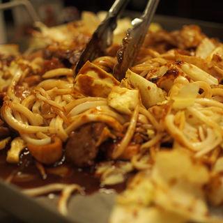 鉄板味噌焼き(かしみん焼き)(新長田食堂)