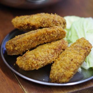 ミンチカツ<肉汁多め>(肉家まるまさ )