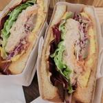 トーストサンドイッチバンブー 定番サンド(トーストサンドイッチ bamboo)