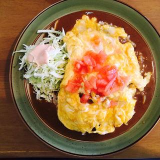 オムカレー(カレー&コーヒーかわしま )