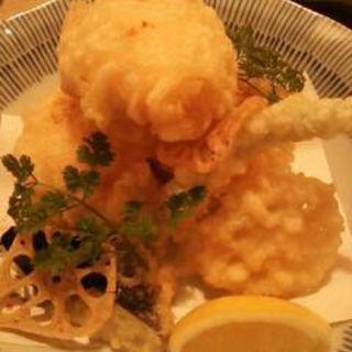 蟹クリーム天婦羅(おたる亭)