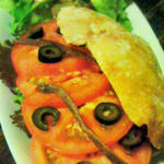 ツナとトマトとアンチョビ