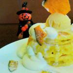 かぼちゃん パンケーキ